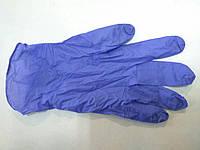 Перчатки нитриловые неопудренные (M) синие 100шт./уп., 78411 ПМ