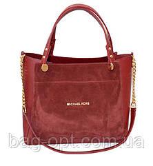 Женская сумка MK замша