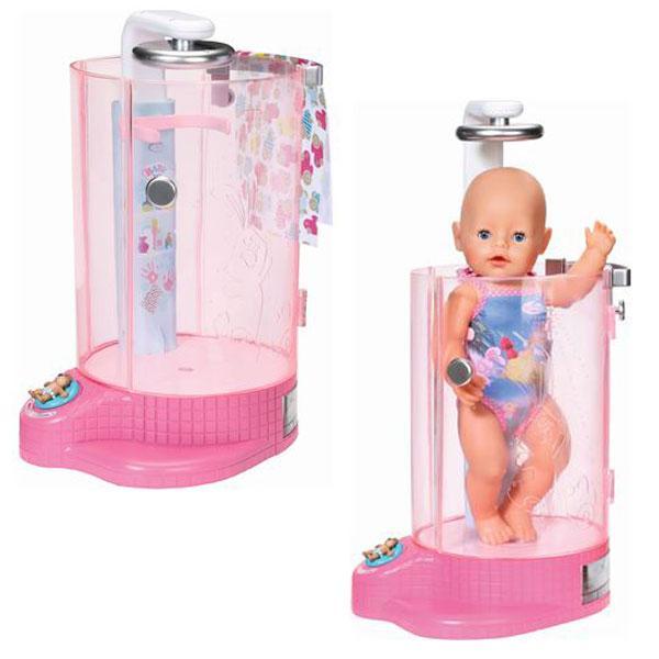 Автоматична душова кабінка для ляльки BABY BORN - ВЕСЕЛЕ КУПАННЯ