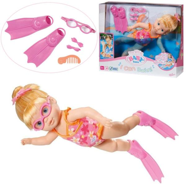 Интерактивная кукла MY LITTLE BABY BORN - УЧИМСЯ ПЛАВАТЬ