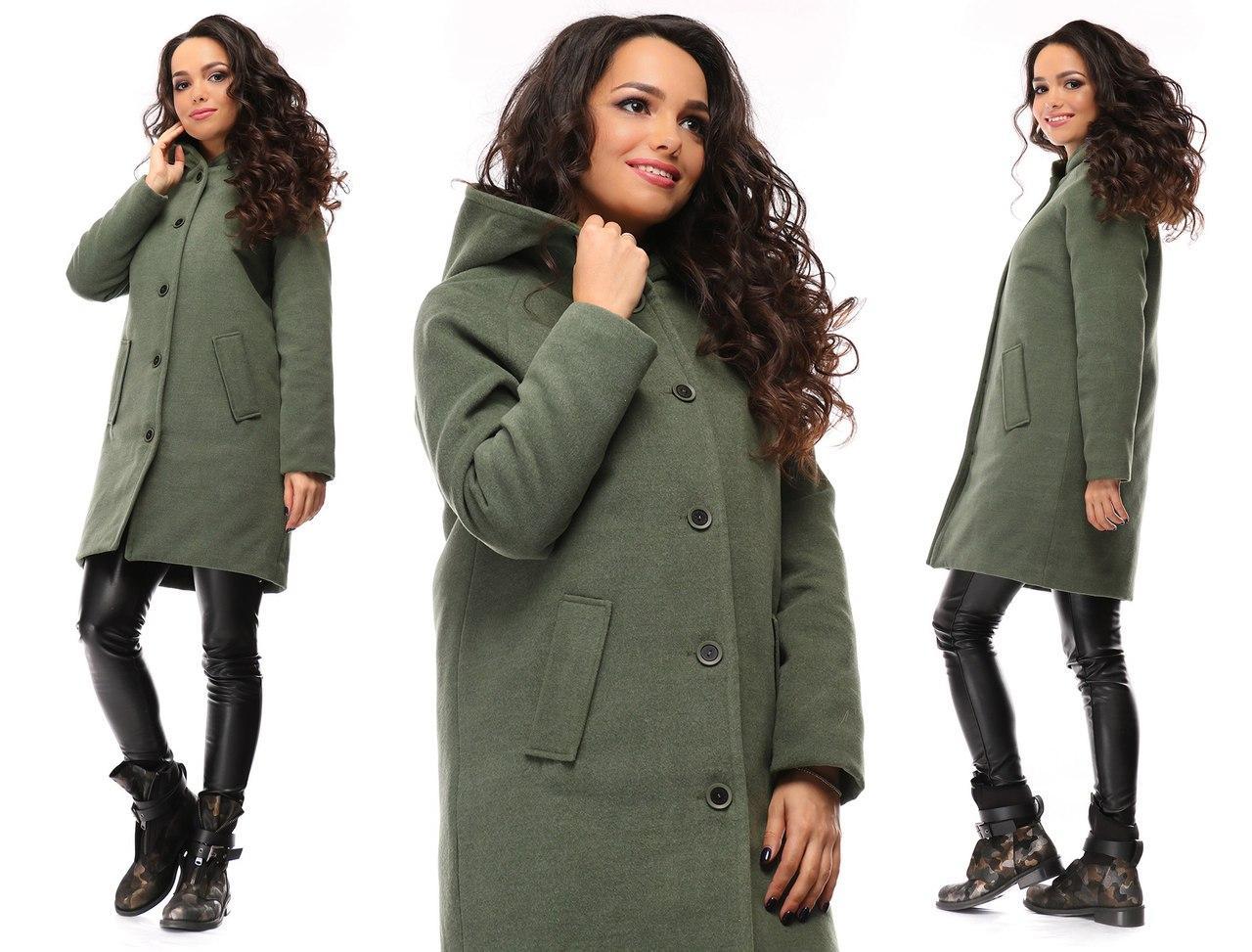 69af6d91325 Женское кашемировое пальто с капюшоном - купить по лучшей цене в ...