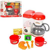 Набор бытовой техники 5231C  кофеварка,зв,св,продукты,посуда,на бат-ке,в кор,38,5-13,5-30,5см