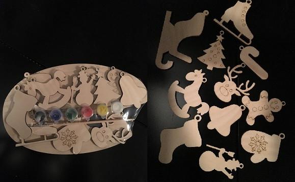 Новогодний набор №3+ краски , 80396