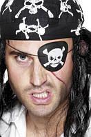 Повязка пиратская на блистере 17*10см