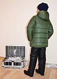 """Курточка детская зимняя для мальчика """"Стив""""на рост 122-140см., фото 3"""