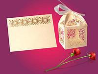 Карточка на свадебный стол Узоры, 10шт