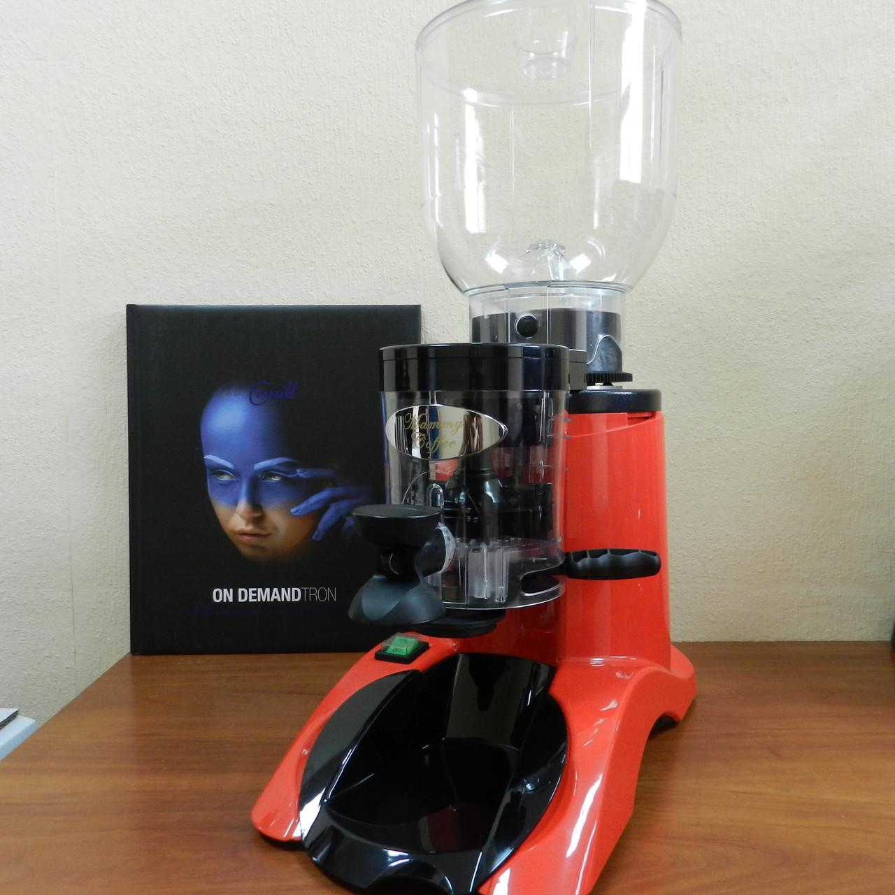 Кофемолка Cunill BRASIL abs red/black
