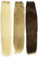 Натуральные европейские волосы на трессе длиной 50 см