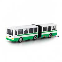 Минимодель Автобус с гармошкой Технопарк SB-15-34-B