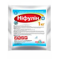 Нифулин Плюс (неомицин сульф. 30 мг; окситетрациклин гидрохл. 22,5 мг) 1 кг антибактериальный препарат