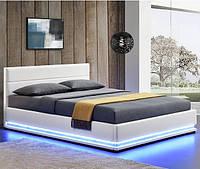 Кровать с подьемным механизмом TOU 140х200 см. с LED подсветкой, фото 1