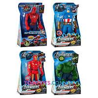 Фигурка Супергерой Халк Человек паук Капитан Америка Железный человек 3310-11-12-13
