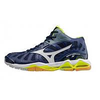 Волейбольные кроссовки Mizuno WAVE TORNADO X MID (V1GA1617-71) AW17, Размер UK 11