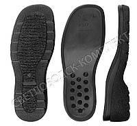 Подошва для обуви 7312, цв. чёрный 36