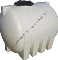 Код-G-1500E. Емкость горизонтальная для транспортировки воды 1500л