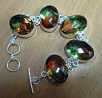 """Серебряной браслет с аметрином """"Султан"""" от LadyStyle.Biz"""