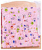 Постель Qvatro GOLD с рисунком (8 элем.,без змеек на защите)  Розовые (котята), фото 3