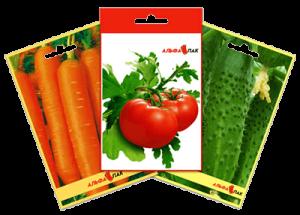 Семена пакетированные