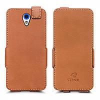 Чехол флип Stenk Prime для HTC Desire 620G Duo Camel