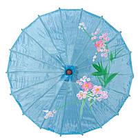 Зонт декоративный 50х82 см голубой (5904а)