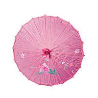 Зонт декоративный 50х82 см темно-розовый (А7307)