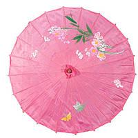 Зонт декоративный 50х82 см розовый (5913)