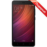 "Смартфон 5.5"" Xiaomi Redmi Note 4X, 3GB+16GB Черный 8 ядер Snapdragon камера Sony IMX258 13Мп Android 6"