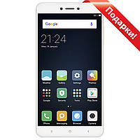 "Смартфон 5.5"" Xiaomi Redmi Note 4X, 3GB+16GB Золотистый 8 ядер Snapdragon камера Sony IMX258 13Мп Android 6"