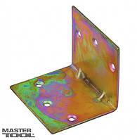 Уголок строительный 50*50*60 мм оцинкованный Mastertool 92-0780