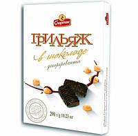 Подарочный набор от КФ Спартак Грильяж в шоколаде 290гр