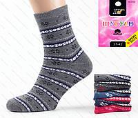 Женские махровые носки с люрексом D-02-13-1 Z. В упаковке 12 пар., фото 1