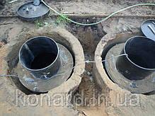 Вставка в бетонные кольца, фото 2