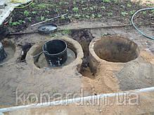 Вставка в бетонные кольца, фото 3