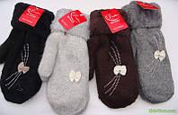 Женские рукавици,теплющие на меху!Много моделей!, фото 1