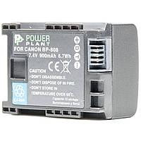 Аккумулятор к фото/видео PowerPlant Canon BP-808 Chip (DV00DV1260)
