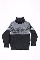 Вязанный свитер под горло для мальчиков ADA (92-110), фото 1