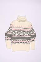 Вязанный свитер под горло для девочек ADA (128-152)