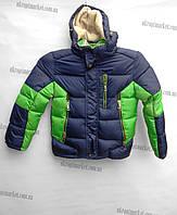"""Детская зимняя куртка на мальчика (36-44) """"Cosmo"""" купить оптом со склада на 7км 2RS-1677"""