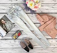 Заниженные джинсы-скинни H&M бледно-голубого оттенка  PN4418