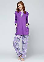 Пижама женская начесная
