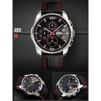 Мужские водонепрницаемые спортивные часы SKMEI 9106 Красные