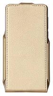Чехол книжка RED POINT Bravis A504 Trace - Flip case (Gold)
