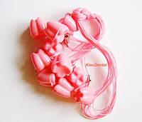 Контейнер для молочных зубов / 10 штук / розовый