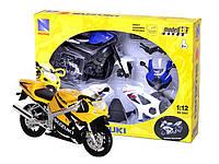 N.R.Мотоцикл сборка (1:12) SUZUKI(57005)