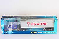 P. Трейлер металл. 1:32 Kenworth W900 //(32663W)