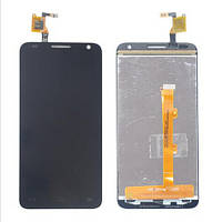 Дисплей (LCD) Alcatel 6030D One Touch Idol с сенсором чёрный