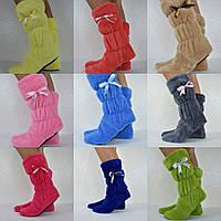 Жіночі тапочки сапожки з махри.Р-ри 35-40. 9 кольорів в наявності, фото 1