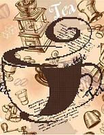 Схема для вышивания бисером Горячий напиток БИС4-142 (А4)