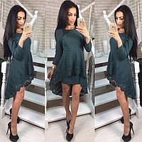 Трикотажное платье 3ВТ