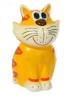 Копилка кот Шон, сувенир или статуэтка керамическая украинского производства